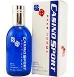 Casino Sport by Casino Parfums Eau De Toilette Spray 4 Oz for Men
