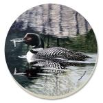 Counter Art Loon Coasters Set of 4