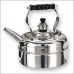 Old Dutch 3Qt Stainless Steel Windsor Whistling Tea Kettle