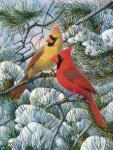 Songbird Essentials Flag Garden, Fire in the Snow