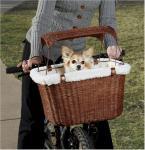 Tagalong Wicker Pet Bicycle Basket