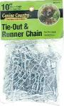American Leather Medium Weight Tie Out & Runner Chain 10Ft