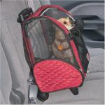 Roll Around Pet Carrier - Medium/Red