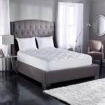 Nova Furniture Group 10 in. King Medium - Firm Memory Foam Mattress Bed With 2 Free Gel Pillows