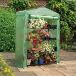 Gardman 4 Tier Extra-Wide Growhouse Greenhouse