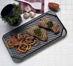 Chef's Design Non-Stick Double Burner Reversible Grill/Griddle