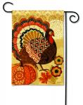 Magnet Works Turkey Time Garden Flag