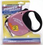 Coastal Pet Products 8701 Power Walker Retractable Leash, Pink - Large