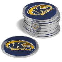 Kent State Golden Flashes 12 Pack Collegiate Ball Markers