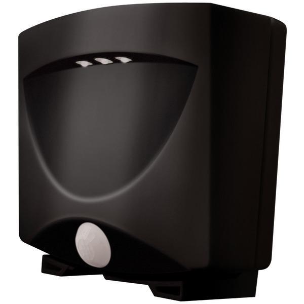 Maxsa Maxsa Innovations 40342 Battery-Powered Motion-Activated Outdoor Night Light (Black/ Dark Bronze)
