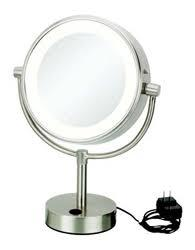 Kimball Amp Young Neomodern Led Lighted Freestanding Mirror