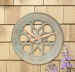 Whitehall Medallion Clock - Copper Verdi