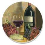 Counter Art Vintner's Wine Coasters Set of 4