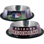 Arizona Diamondbacks Stainless Dog Bowl