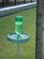 Molor Products Green Soda Bottle Bird Bath