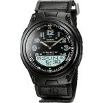 Casio Fast Wrap Ana Digi Watch, Black