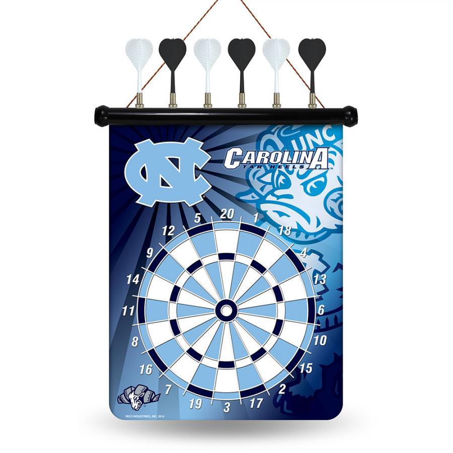 Rico North Carolina Tar Heels NCAA Magnetic Dart Board