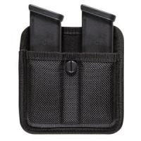 Bianchi 7320 Triple Threat II Mag Pouch, Black, Size 02