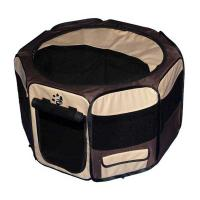 "Pet Gear Travel Lite Soft-Sided Pet Pen with Removable Top Sahara 29"" x 29"" x 17"""
