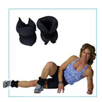 J/Fit Neoprene Ankle Weights (5 lbs each)