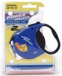 Coastal Pet Products 8702 Power Walker Retractable Lead, Blue - X-Small