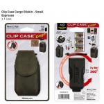 Nite-ize Clip Case Cargo Phone Holster, Small, Leather, Espresso