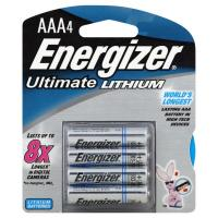 Energizer E2 Lithium AAA Batteries, 4 Pack