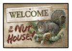 Fiddler's Elbow Welcome to the Nut House Doormat