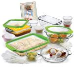 Anchor Hocking 32 Pc Ovenware Set w/ TrueFit See-Thru Lids