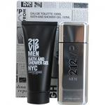 212 Vip By Carolina Herrera Eau De Toilette Spray 3.4 Oz & Shower Gel 3.4 Oz for Men