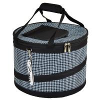 Picnic at Ascot 24 Can Collapsible Cooler -Houndstooth